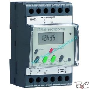 Thermostat chaudiere thermostat chaudiere sur enperdresonlapin for Programmateur chauffage electrique fil pilote zones